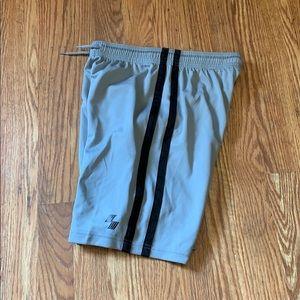 Grey gym shorts!!